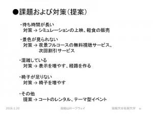 函館山ロープウェイ実態調査分析の概要 ページ 10